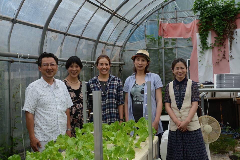 7月NPO田舎のヒロインズ 女性農業者視察2