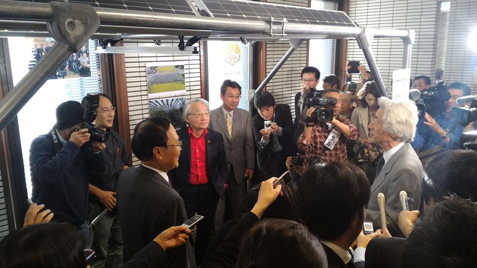 11月 城南信用金庫シンポジウム 小泉元総理、長島彬氏と