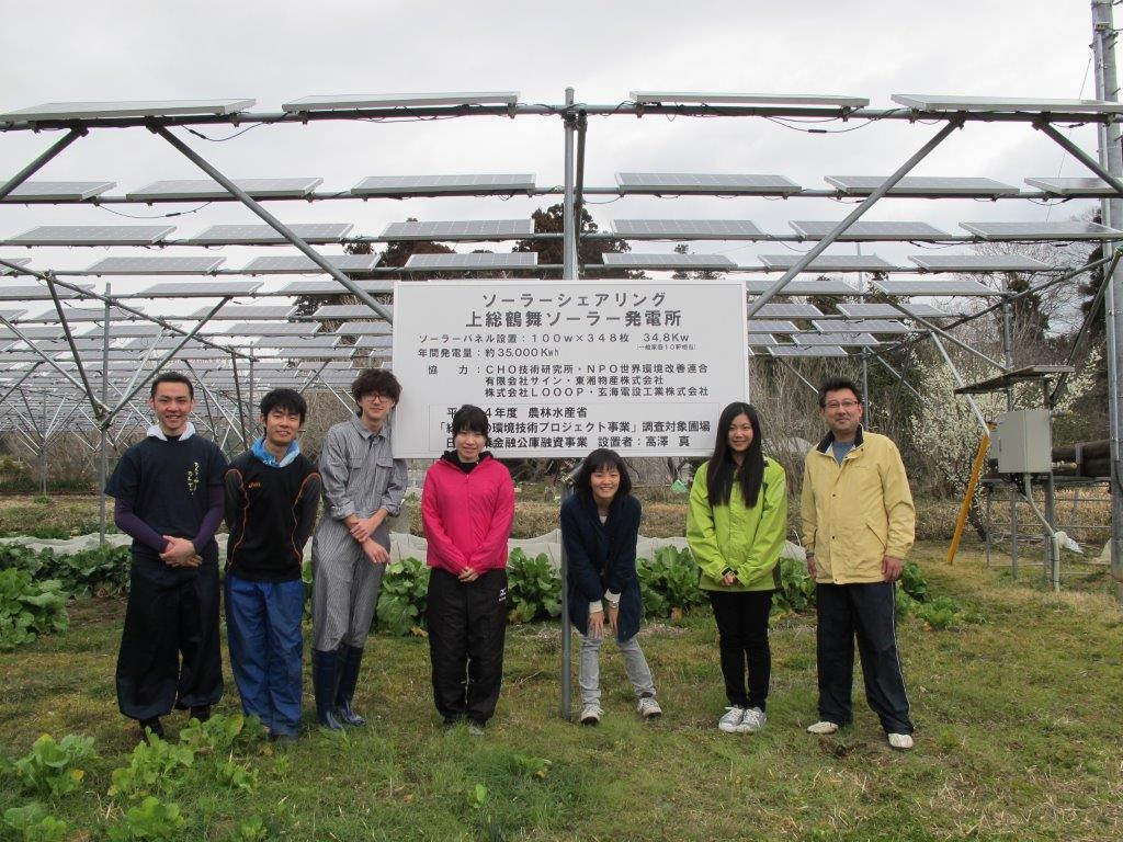 3月 東京農大生 来訪
