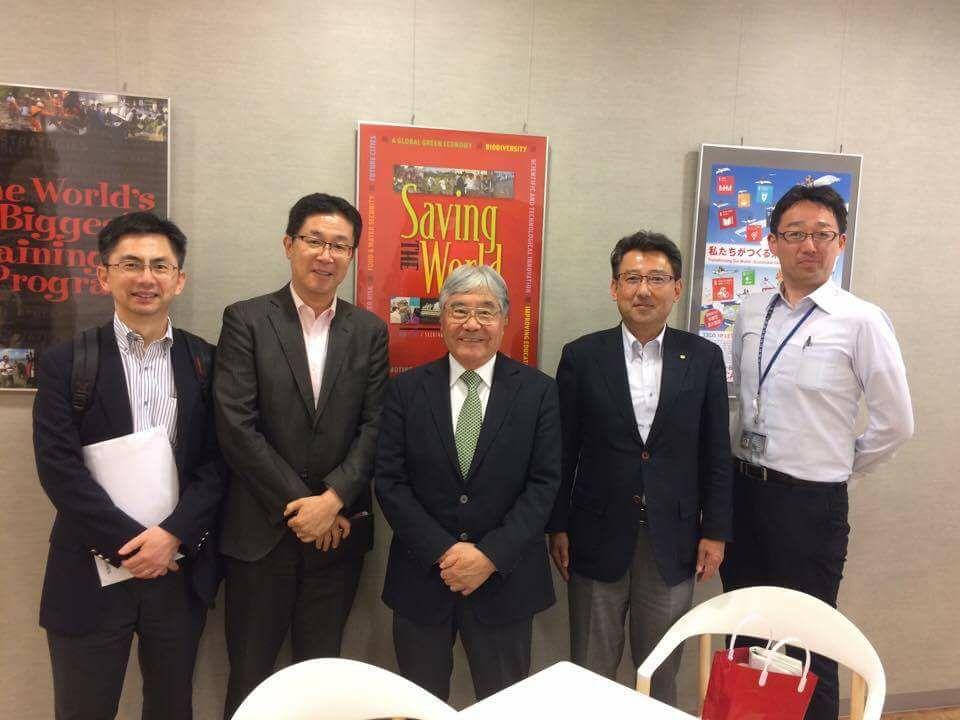 6月 平崎さんとJICA訪問