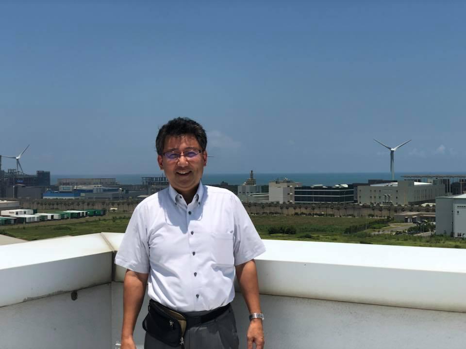 7月 台湾桃園市 風力発電訪問