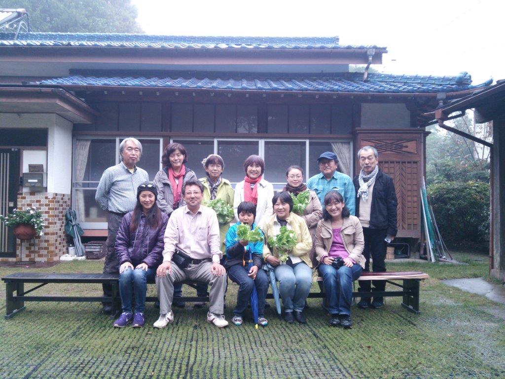 11月1日 練馬グリーンエネルギーの皆様が訪問されました