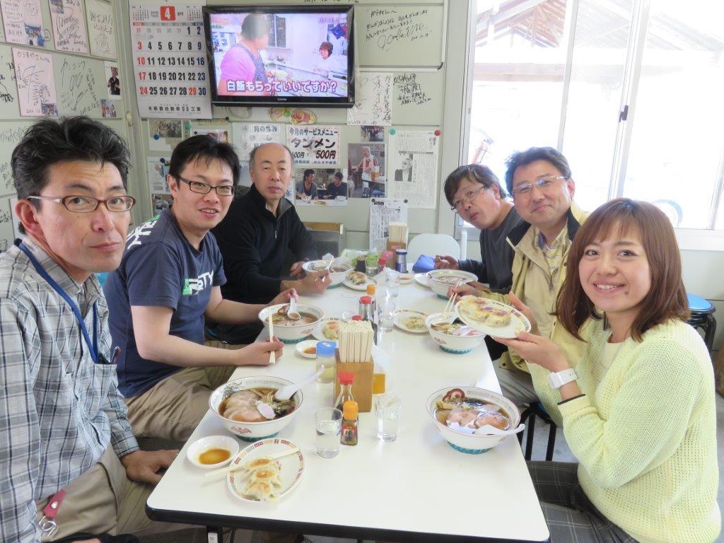 4月市原から福島へ タケノコ支援 2