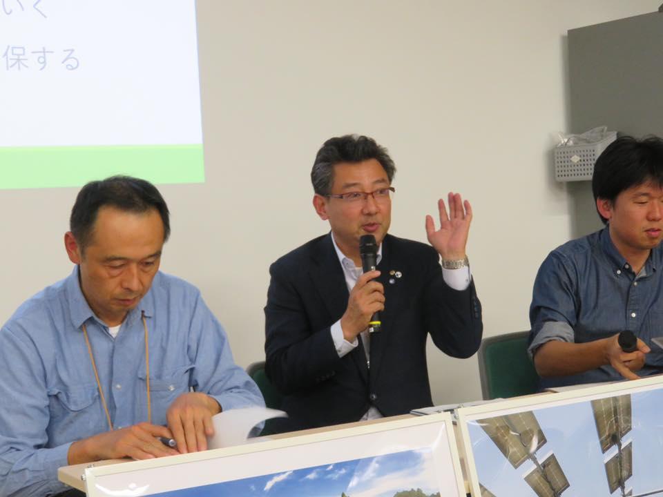 11月 市民電力連絡会でパネラー参加