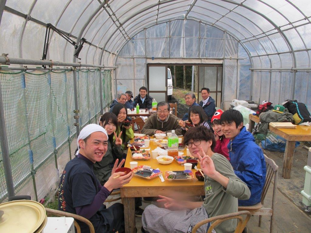 3月 東京農大生との交流会