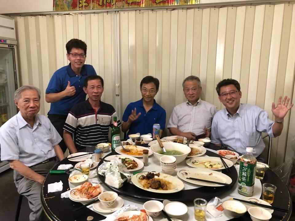 7月台湾訪問